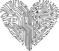 silicon-heart
